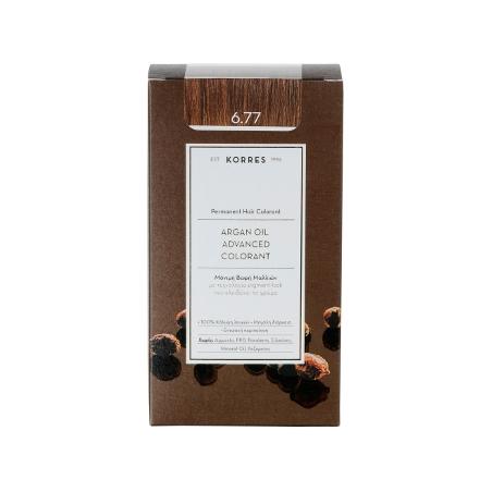 Korres Argan Oil Advanced Colorant 6.77 Πραλίνα 50ml