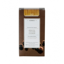Korres Argan Oil Advanced Colorant 8.3 Ξανθό Ανοιχτό Μελί 50ml