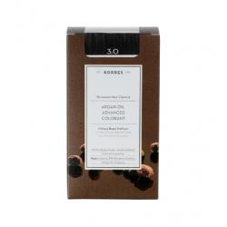 Korres Argan Oil Advanced Colorant 3.0 Καστανό Σκούρο Φυσικό 50ml