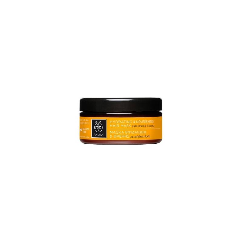 APIVITA Μάσκα Θρέψης και Επανόρθωσης με Ελιά και Μέλι 200ml