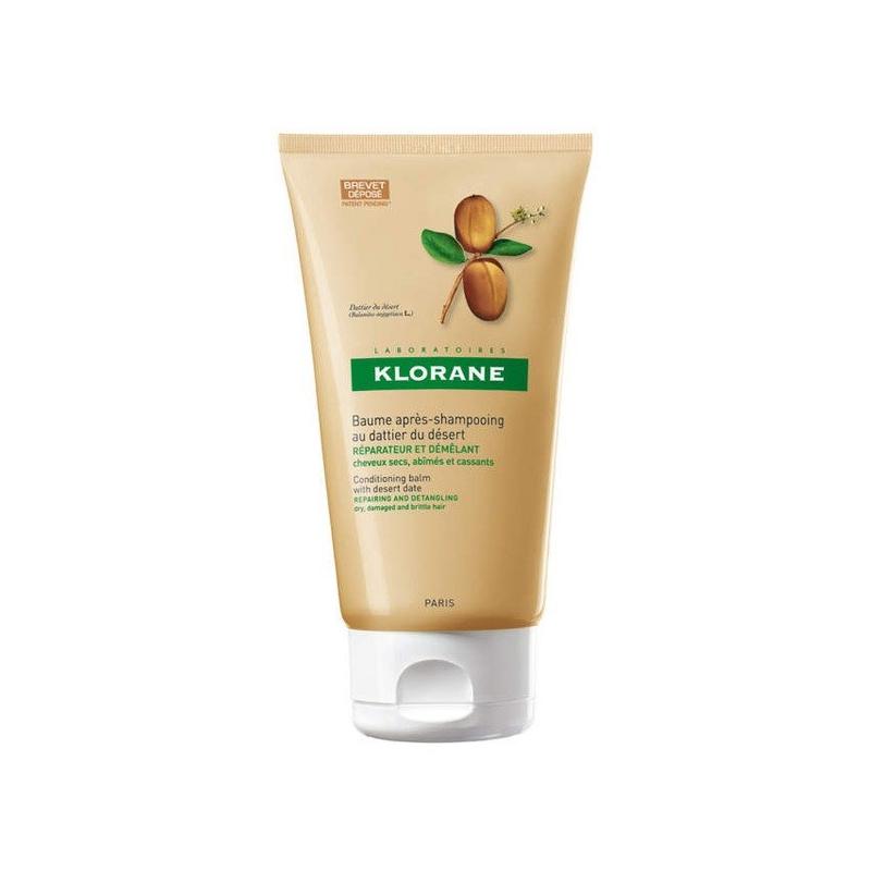 KLORANE Μαλακτική κρέμα μαλλιών με Χουρμά της Ερήμου για ξηρά & κατεστραμμένα μαλλιά 150ML.