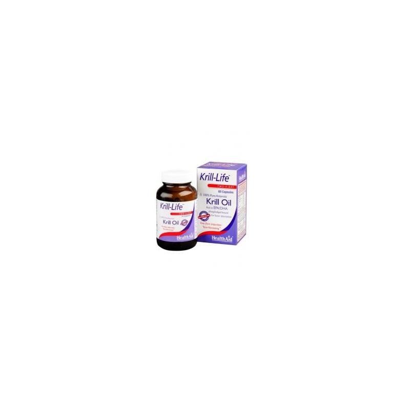 Health Aid Krill-Life 500mg 60 κάψουλες
