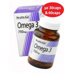 HEALTH AID Omega 3 750MG 30CAPS.
