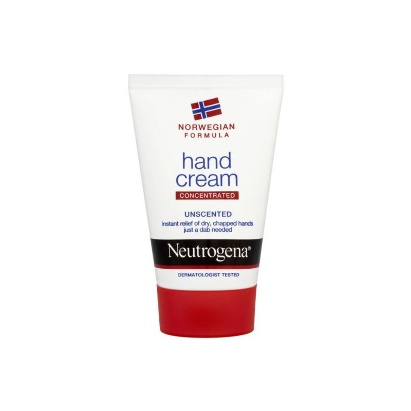 Neutrogena Hand Cream concentrated unscented 75ml.