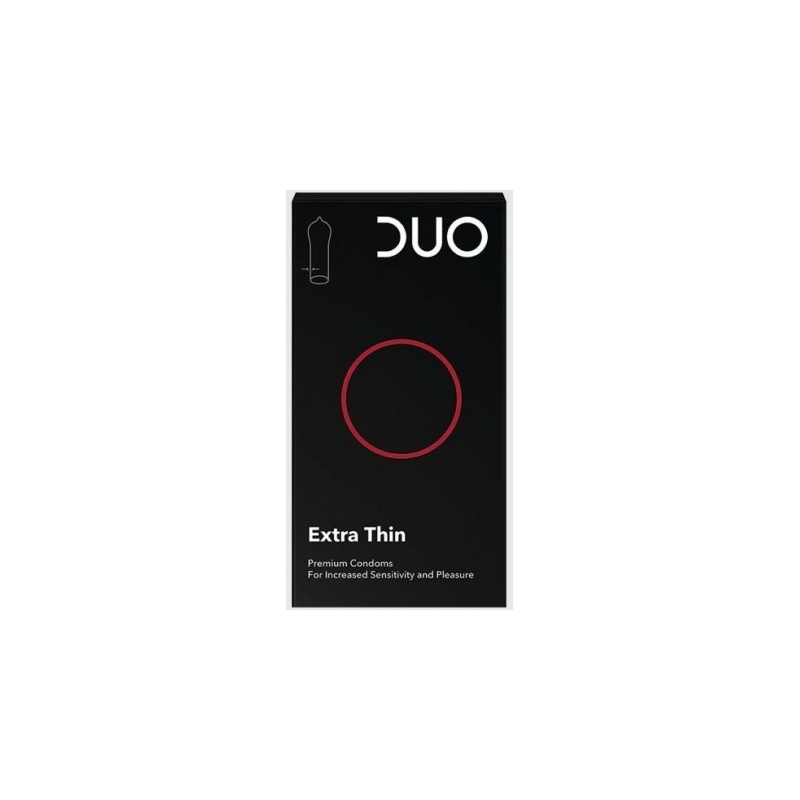 Duo Extra Thin Πολύ Λεπτό 6 τμχ