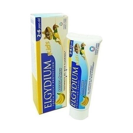 Elgydium Kids Banana Παιδική Οδοντόκρεμα για 2 έως 6 ετών 50ml