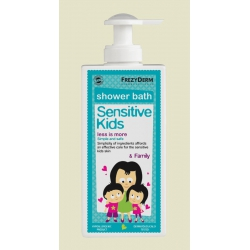 FREZYDERM SENSITIVE KIDS SHOWER BATH+FAMILY 200ml