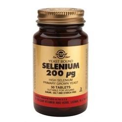 Solgar Selenium 200mg 50 ταμπλέτες