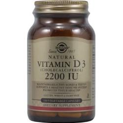 Solgar Vitamin D-3 2200 IU veg. caps 100 Φυτοκάψουλες