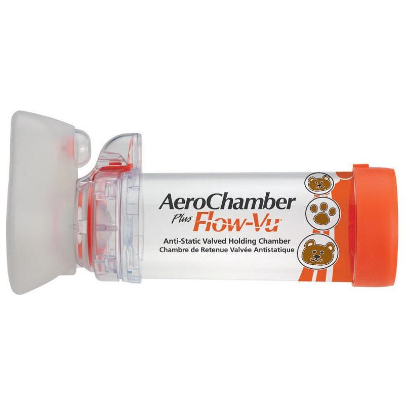 Aerochamber Plus Flow-Vu Small Βρεφική Μάσκα (0-18 μηνών)