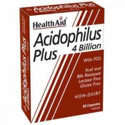 HealthAid Acidophilus Plus 4 bilion 30caps