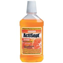 Intermed Actisept Στοματικό Διάλυμα Καθημερινής Χρήσης Γεύση Πορτοκάλι 500ml