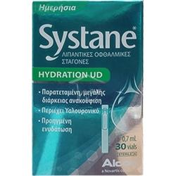 Alcon Systane Hydration UD Λιπαντικές Οφθαλμικές Σταγόνες 30 αμπούλες