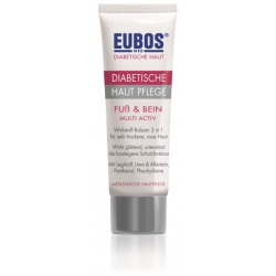 Eubos Diabetic Skin Care Foot & Leg Multi Active 100ml