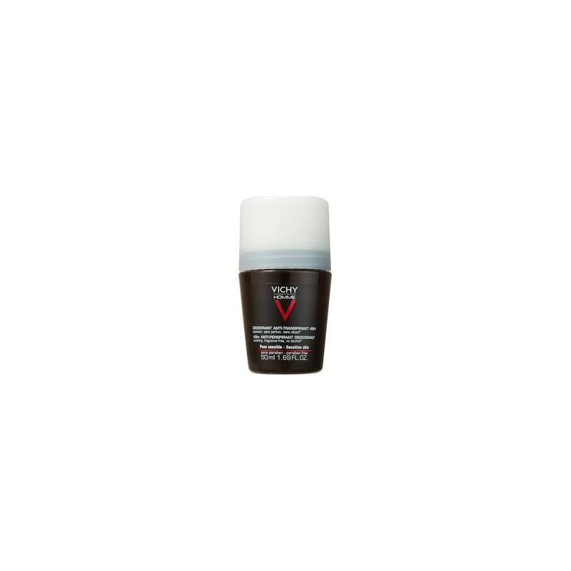 Vichy Homme Deodorant Anti-Transpirant Roll-On 48h 50ml