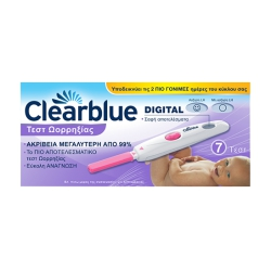 Clearblue Ψηφιακό Τεστ Ωορρηξίας 7 test