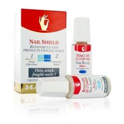 Mavala Nail Shield Set Σύστημα 2 Φάσεων Αποτελείτε από 2 Φιαλίδια 2x10ml