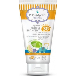 Tol Velvet Natural Sun Cream SPF30 100ml
