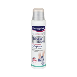 Hansaplast Silver Active Ανθιδρωτικό Σπρέι Ποδιών 150ml