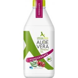 Litinas Aloe Vera Gel 1000ml Ρόδι