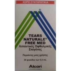 Alcon Tears Naturale Free Med 30 x 0.4ml