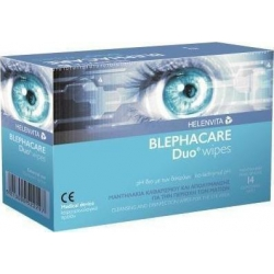 Helenvita Blephacare Duo Μαντηλάκια 14 τεμάχια