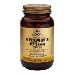 Solgar Vitamin E 1000iu 50 μαλακές κάψουλες