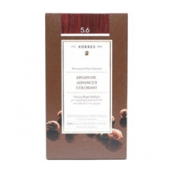 Korres Argan Oil Advanced Colorant 5.6 Καστανό Ανοιχτό Κόκκινο 50ml