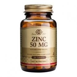 Solgar Zinc Gluconate 50mg 100tabs